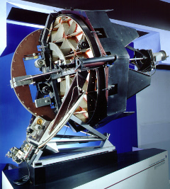 Infrared Reflecting Telescope: The infrared reflecting telscope built at the California Institute of Technology in th 1960s to survey the sky for infrared sources.