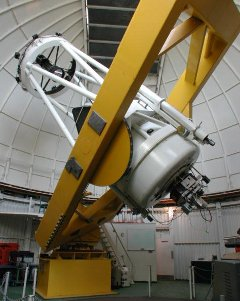 Kuiper Telescope: Operated by Steward Observatory, the 61-inch Kuiper Telescope was built in the 1960s to survey the Moon in preparation for the lunar spacecraft missions.