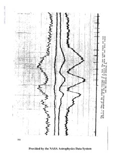 Spectrum of the Star Mira with Water Absorption Bands: Spectrum taken with Stratoscope II.  This was the first remote controlled discovery during the Stratoscope II observation.  Attempts at remote-controlled, ground-based telescopes had not even been attempted yet.