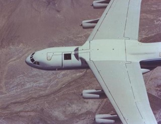Gerard P. Kuiper Airborne Observatory: For over twenty years, the Kuiper Airborne Observatory (KAO) was operated as the world's only airborne telescope devoted exclusively to astronomical research. KAO was named after the astronomer Gerard P. Kuiper. Carrying a 36-inch reflecting telescope, KAO was a converted C-141 military cargo plane with a 160-foot wingspan. Flying at altitudes of 41,000 to 45,000 feet, above 99 percent of the Earth's infrared-absorbing water vapor, KAO was capable of conducting infrared astronomy. Harvey would have observed from behind the telescope; the telescope was looking out the hole in the roof behind the cockpit.